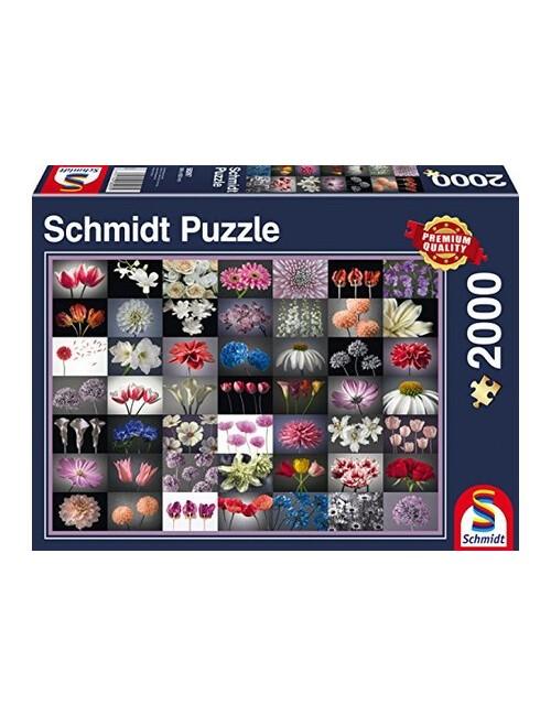 Schmidt Flower Greeting 2000pcs 58297