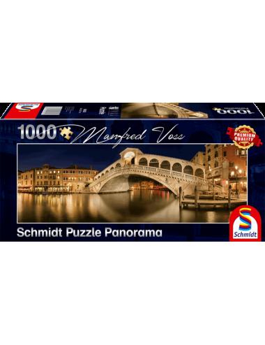 Περισσότερα σχετικά με Schmidt Panorama Rialto Bridge 1000pcs 59620