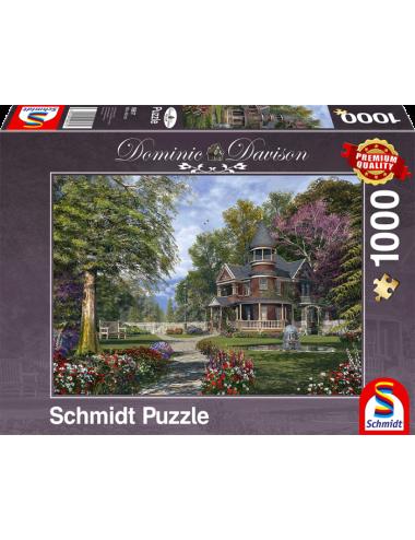 Περισσότερα σχετικά με Schmidt Manor house with tower 1000pcs 59617