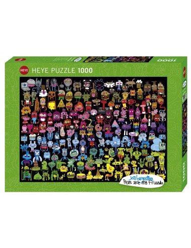 Heye Doodle Rainbow 1000pcs 29786
