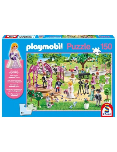 Schmidt Με Φιγούρα PLAYMOBIL Marriage 150pcs (56271)