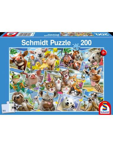 Schmidt  Animal Selfies 200pcs 56294
