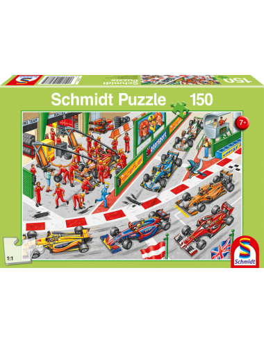 Schmidt What Happens at The car Race 150pcs 56288