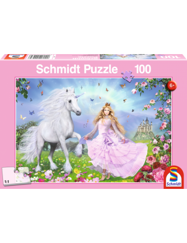 Schmidt The Unicorn Princess 100pcs 55565
