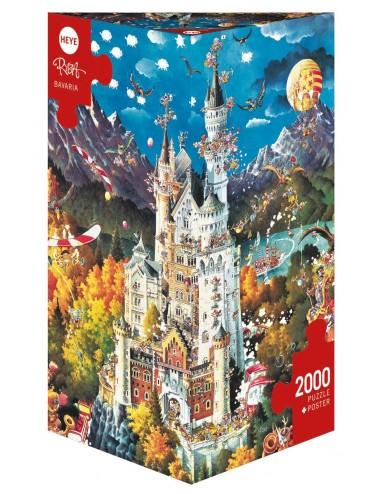 Heye Ryba: Bavaria 2000pcs (29700)