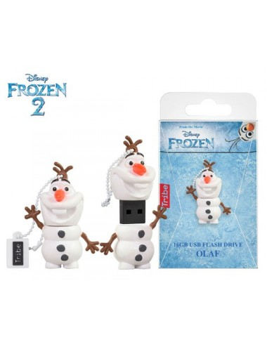 TRIBE FLASH DRIVE USB 3D FROZEN OLAF 16GB