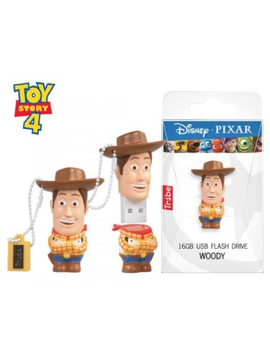 TRIBE FLASH DRIVE USB 3D WOODY 16GB
