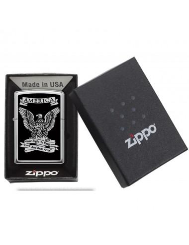 ZIPPO 28290 Black and White Americana