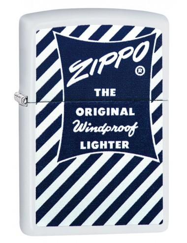 ZIPPO 29413  Blue & White1958-59