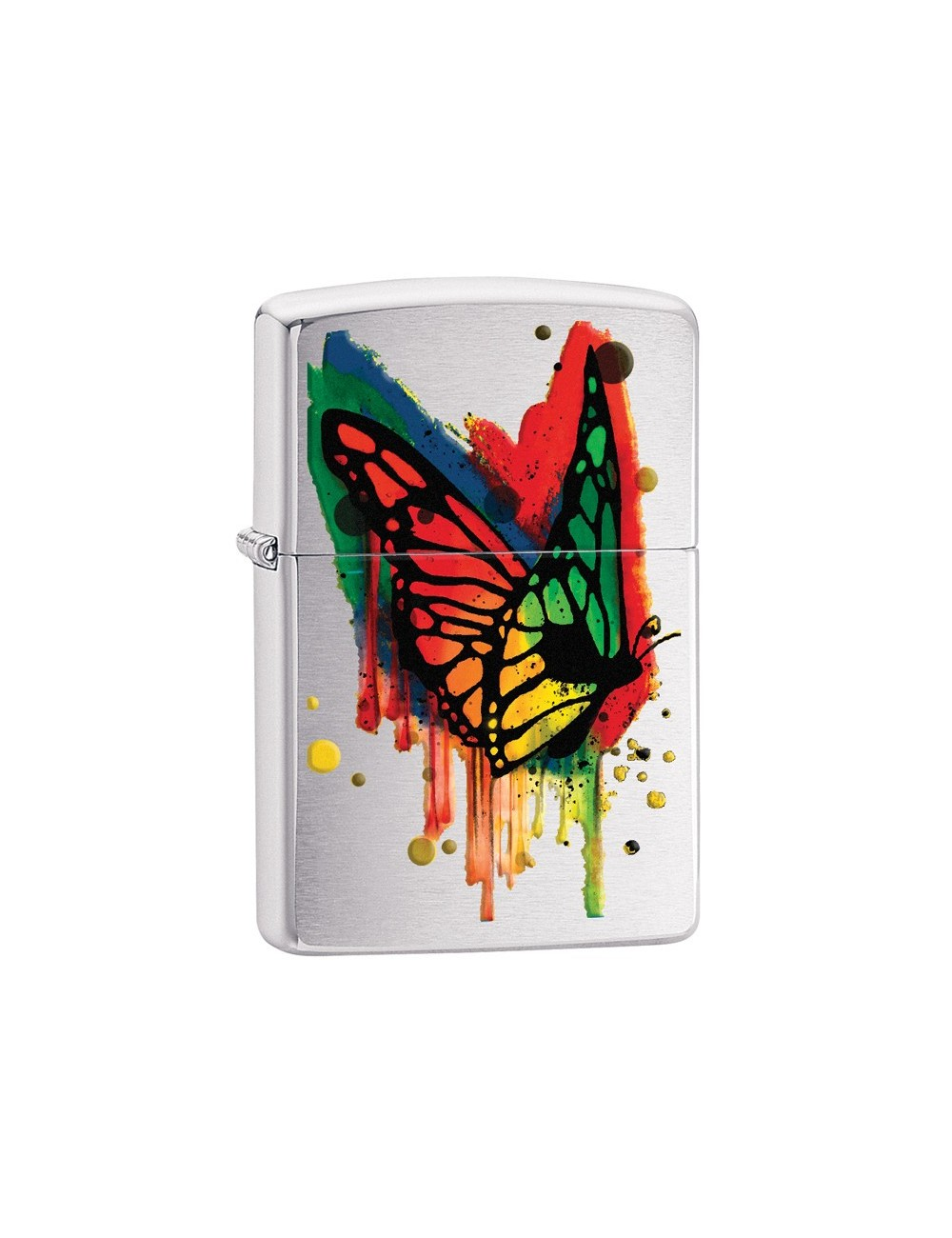 ZIPPO Butterfly Brushed Chrome  29392