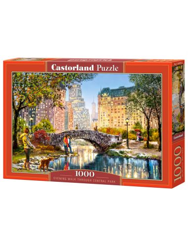 Castorland Evening Walk Through Central Park 1000 ΚΟΜΜΑΤΙΑ C-104376