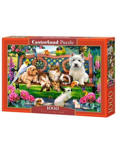 Castorland PETS IN THE PARK 1000 ΚΟΜΜΑΤΙΑ C-104406