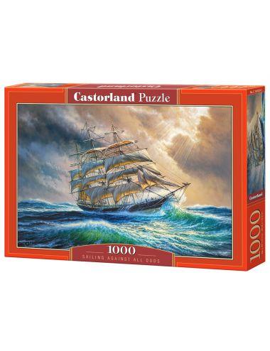 Castorland SAILING AGAINST ALL ODDS 1000 ΚΟΜΜΑΤΙΑ C-104529
