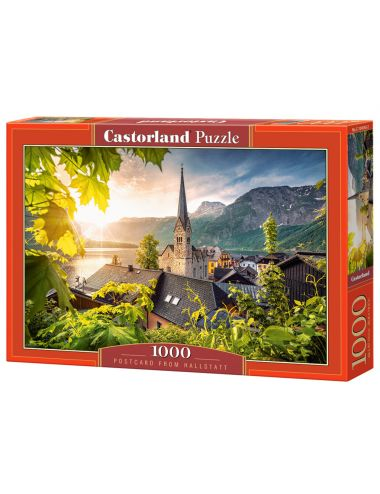 Castorland POSTCARD FROM HALLSTATT 1000 ΚΟΜΜΑΤΙΑ C-104543