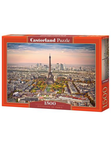 Castorland CITYSCAPE OF PARIS 1500 ΚΟΜΜΑΤΙΑ C-151837