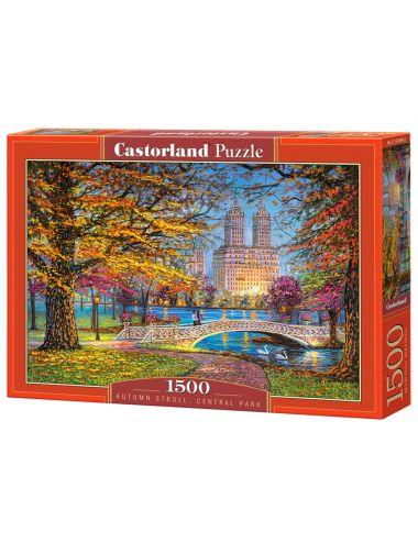 Castorland AUTUMN STROLL, CENTRAL PARK 1500 ΚΟΜΜΑΤΙΑ C-151844