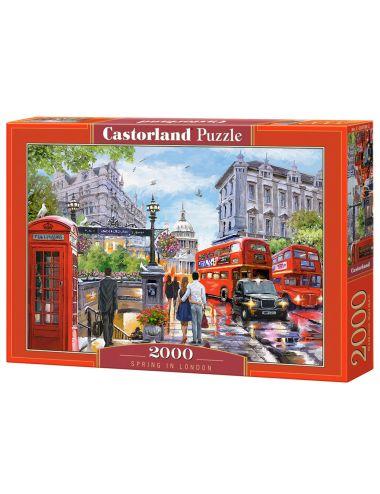 Castorland SPRING IN LONDON 2000 ΚΟΜΜΑΤΙΑ C-200788