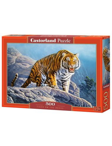 Castorland Tiger On the Rocks 500 ΚΟΜΜΑΤΙΑ B-53346