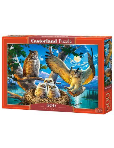 Castorland OWL FAMILY  500 ΚΟΜΜΑΤΙΑ B-53322
