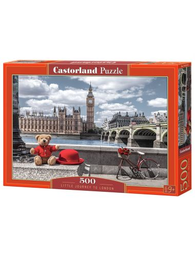 Castorland Little Journey To London 500 ΚΟΜΜΑΤΙΑ B-53315