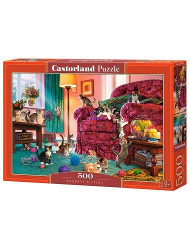 Castorland NAUGHTY KITTENS 500 ΚΟΜΜΑΤΙΑ B-53254