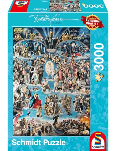 Schmidt Hollywood XXL 3000pcs 59347