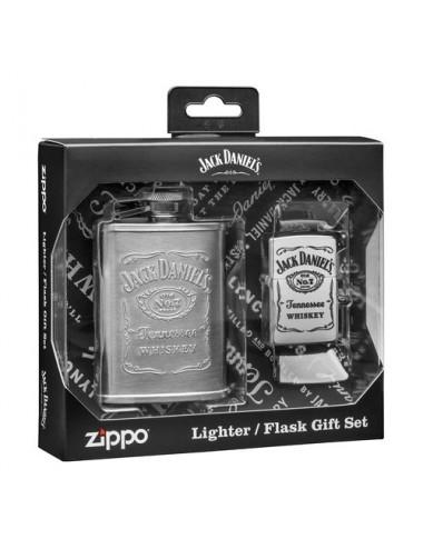 ZIPPO Αναπτήρας Jack Daniel's® Flask & Lighter Gift Set 49180