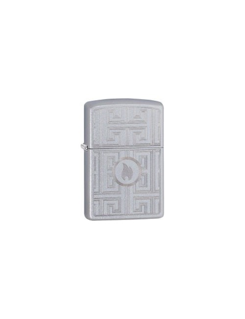 ZIPPO Αναπτήρας Labyrinth Design Satin Chrome 29857