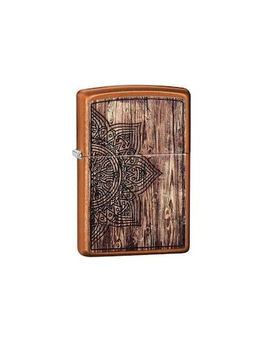 Περισσότερα σχετικά με ZIPPO Αναπτήρας Wood Mandala Design 29828