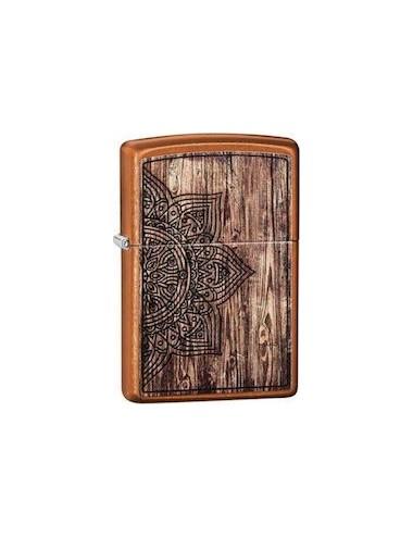 ZIPPO Αναπτήρας Wood Mandala Design 29828