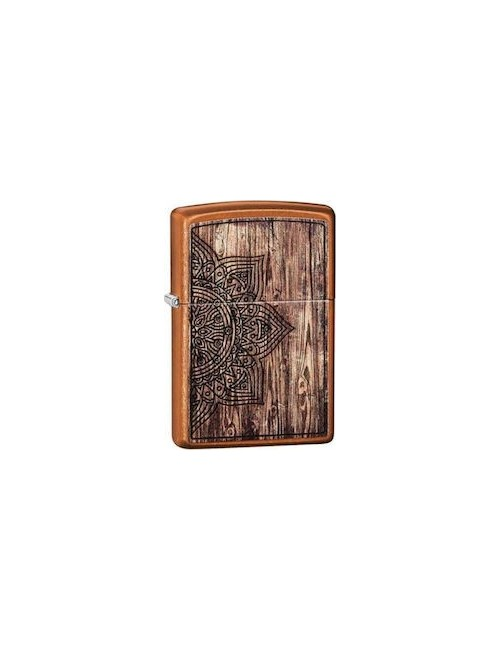 ZIPPO Αναπτήρας Wood Mandala Design 29828