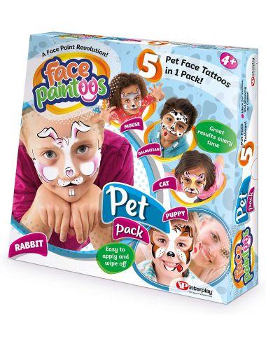 Face Paintoos FACE PAINTOOS - PET PACK C02G0690024