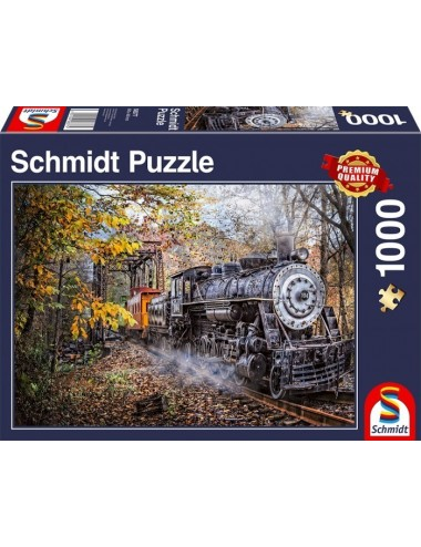 Schmidt Η Γοητεία του Σιδηροδρόμου 1000pcs  58377