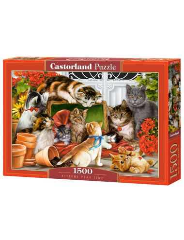Castorland Kittens Play Time 1500 ΚΟΜΜΑΤΙΑ C-151639