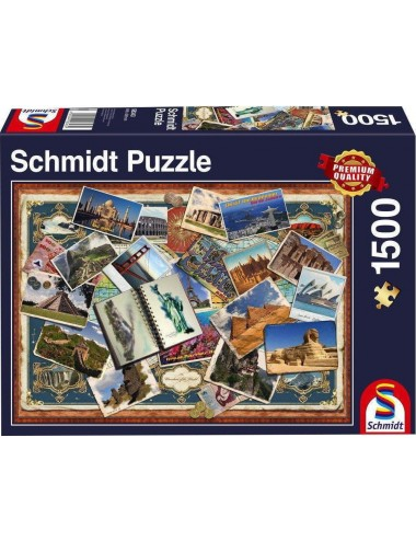 Schmidt   Greetings From All Over the World  1500pcs (58343)