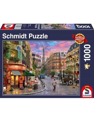 Schmidt Δρόμος προς τον Πύργο του Άιφελ 1000pcs (58387)