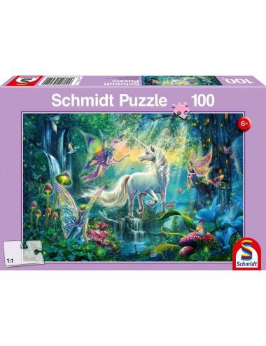 Schmidt  Μαγικό βασίλειο  100pcs 56254