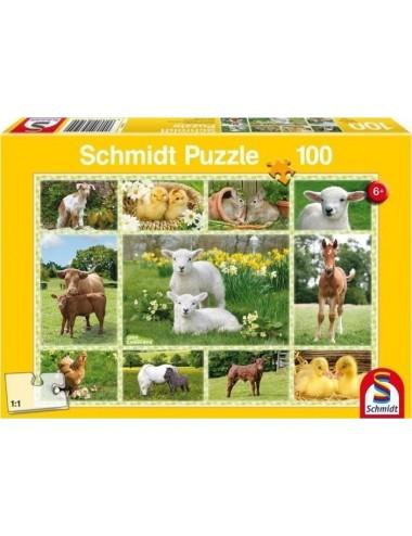 Schmidt  Ζωάκια  100pcs 56194
