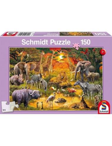 Schmidt 56195 Standard - Ζώα της Αφρικής  150κομ.