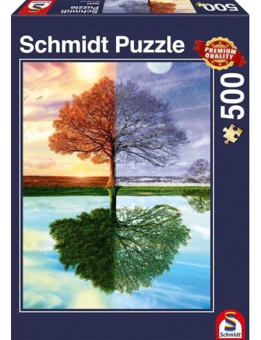 Schmidt Standard - Δέντρο-Εποχές 500pcs (58223 )