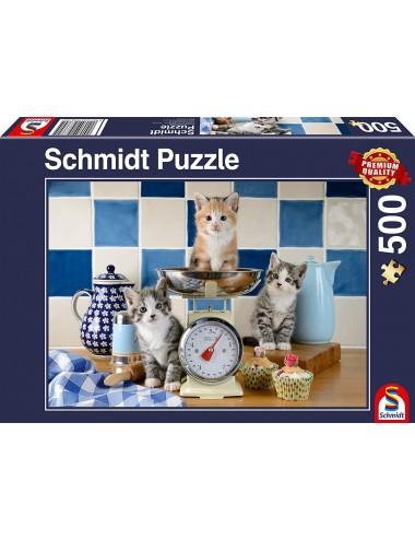 Schmidt Γάτες στην κουζίνα 500pcs (58370)