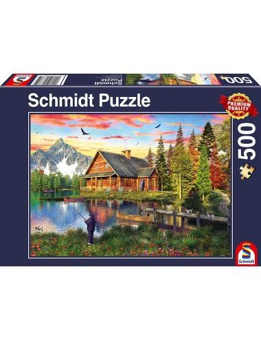 Schmidt Ψάρεμα στη λίμνη 500pcs (58371)