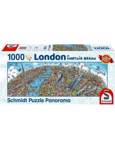 Schmidt Pano -Λονδίνο 1000pcs (59596)