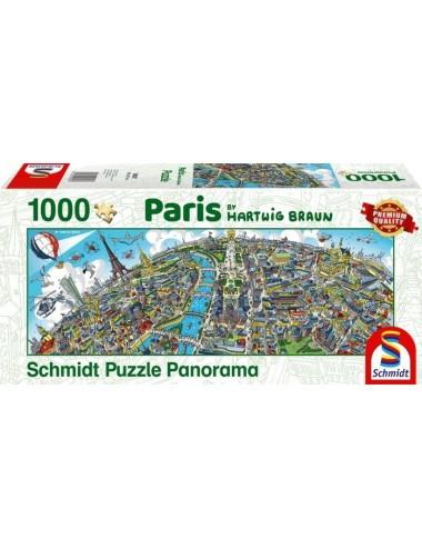 Schmidt Pano - Παρίσι 1000pcs (59597)