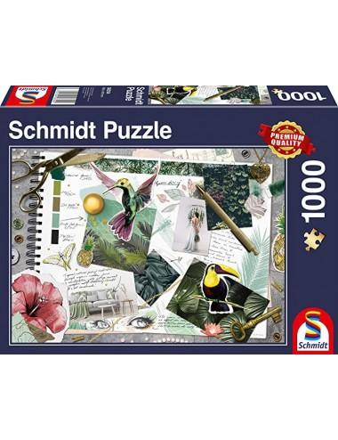 Schmidt Pano  Κολάζ 1000pcs (58354 )
