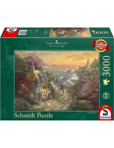 Schmidt Kinkade - Ο φάρος του χωριού 3000pcs 59482