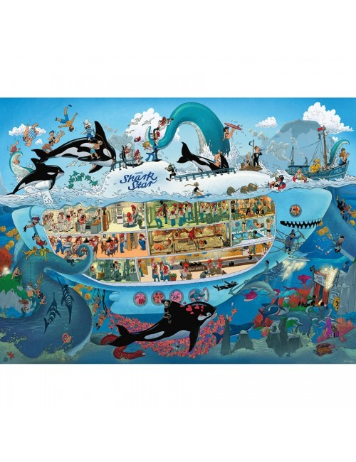 HEYE 29925  Oesterle - Submarine Fun  1500 ΚΟΜΜΑΤΙΑ