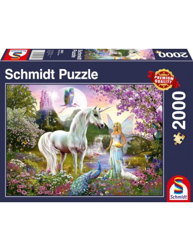 Schmidt Νεράιδα και Μονόκερος  2000pcs 58951