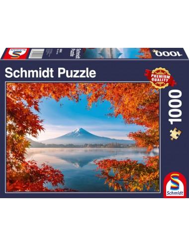 Schmidt Φθινοπωρινό Μεγαλείο στο Βουνό Φίτζι 1000pcs (58946)