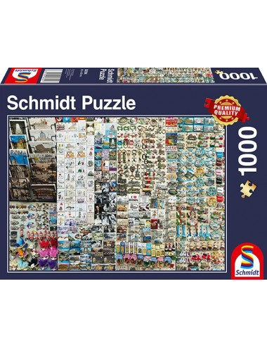 Schmidt Πάγκος με Σουβενίρ  1000pcs (58394)